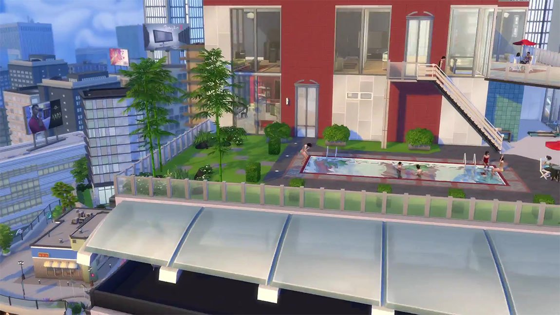 how to download the sims 4 city living for free
