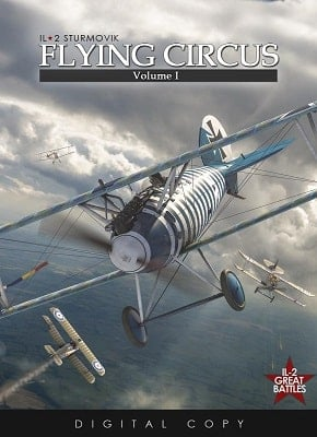 Cack Il-2 Sturmovik: Flying Circus - Volume I 3dm