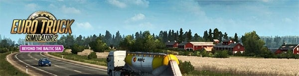 Euro Truck Simulator 2 Beyond the Baltic Sea download