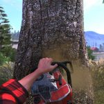 Symulator scinania drzewa